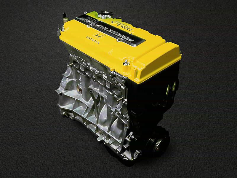 Jun Auto News Renew Honda B16 B18 Short Complete Engine