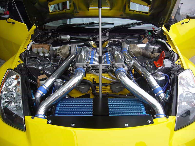 JUN AUTO - NISSAN FAIRLADY Z 350Z / Z33 / VQ35DE - PRODUCT