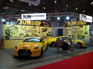 JUN AUTO MECHANICブース