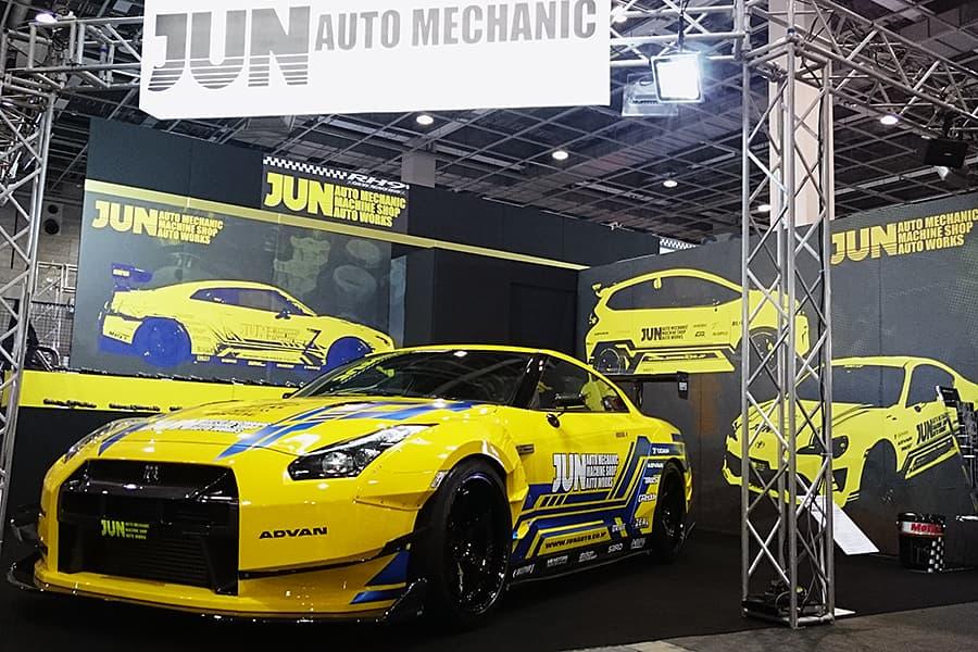 大阪オートメッセ JUN AUTO MECHANICブース