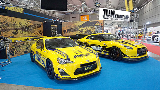 The state of the TOKYO AUTO SALON 2016