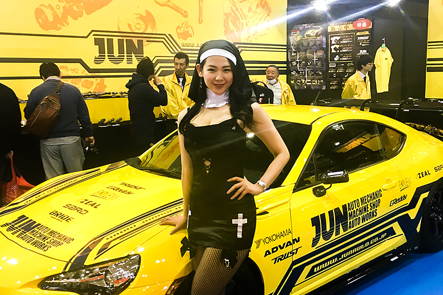 Thank you for visiting us at Tokyo Auto Salon 2017