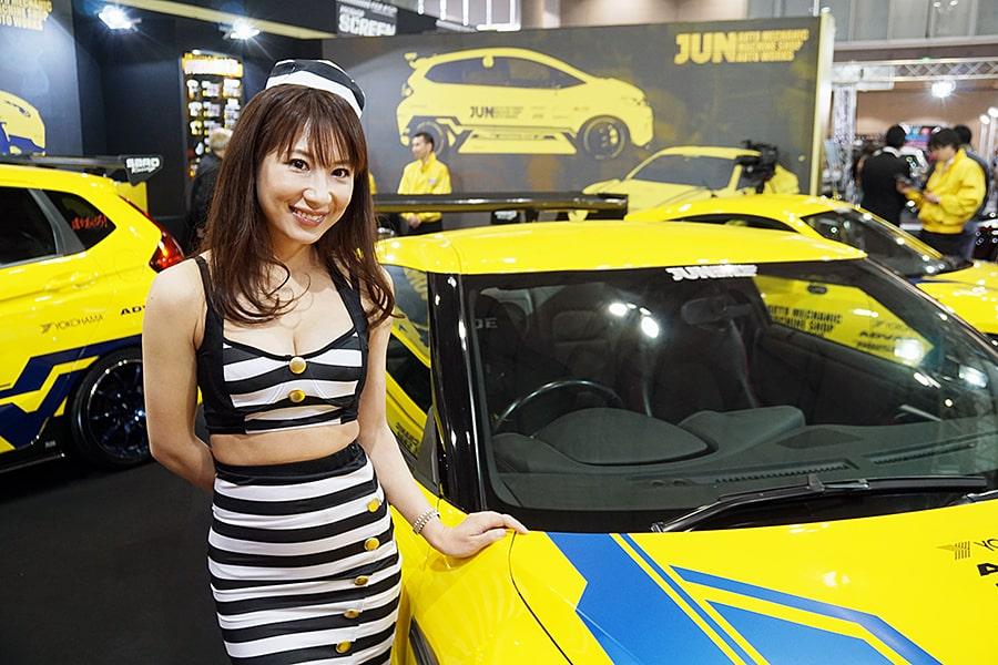 Thank you for visiting us at Tokyo Auto Salon 2019
