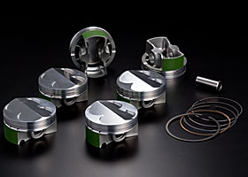 Engine Machine Shop >> JUN AUTO - NEWS : NEW RELEASE: JUN Piston Kit for VQ35DE