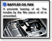 BAFFLED OIL PAN