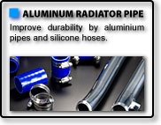 ALUMINIUM RADIATOR PIPE for CZ4A