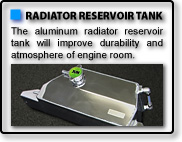 ALUMINIUM RADIATOR RESERVOIR TANK for R35