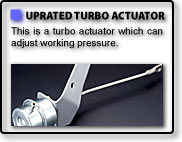 UPRATED TURBO ACTUATOR