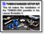 TURBOCHARGER SETUP KIT